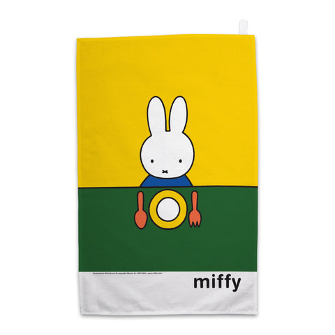 Miffy Ready to Eat Tea Towel
