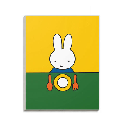 Miffy Ready to Eat A6 Notepad