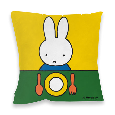 Miffy Ready to Eat Cushion