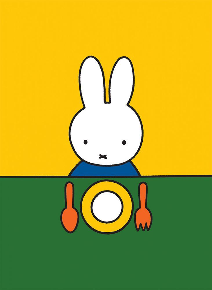 Miffy Ready to Eat Mini Poster
