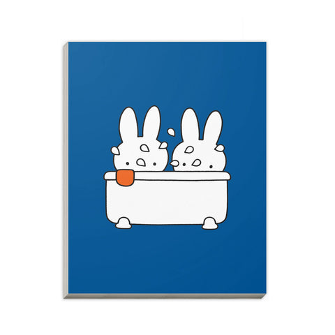 Miffy Taking a Bath A6 Notepad