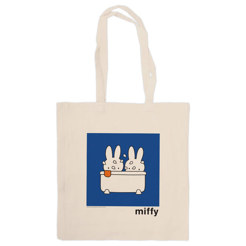 Miffy Taking a Bath Tote Bag