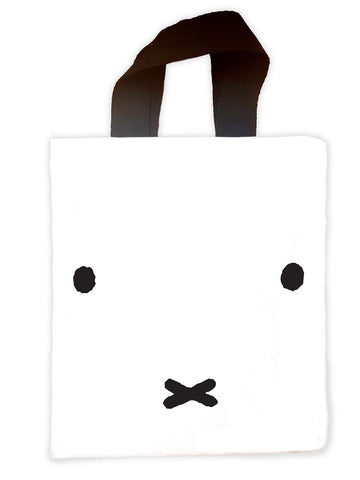 miffy face Mini Edge to Edge Tote