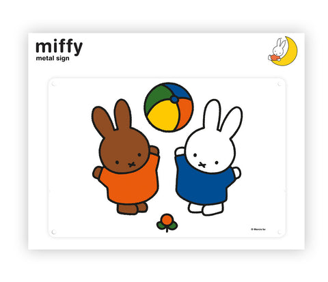Miffy Metal Sign