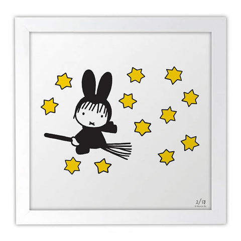 Miffy on Halloween Limited Edition Art Print