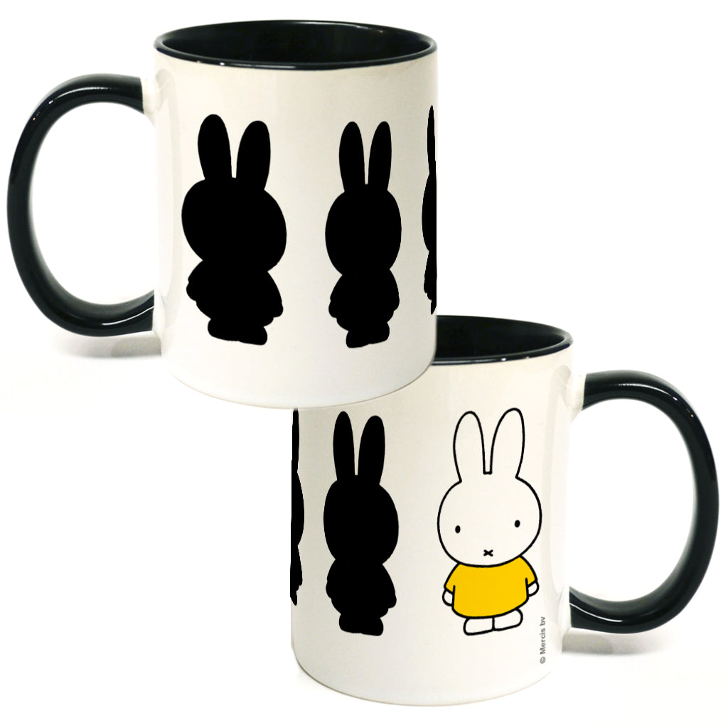 Miffy Silhouette Coloured Insert Mug