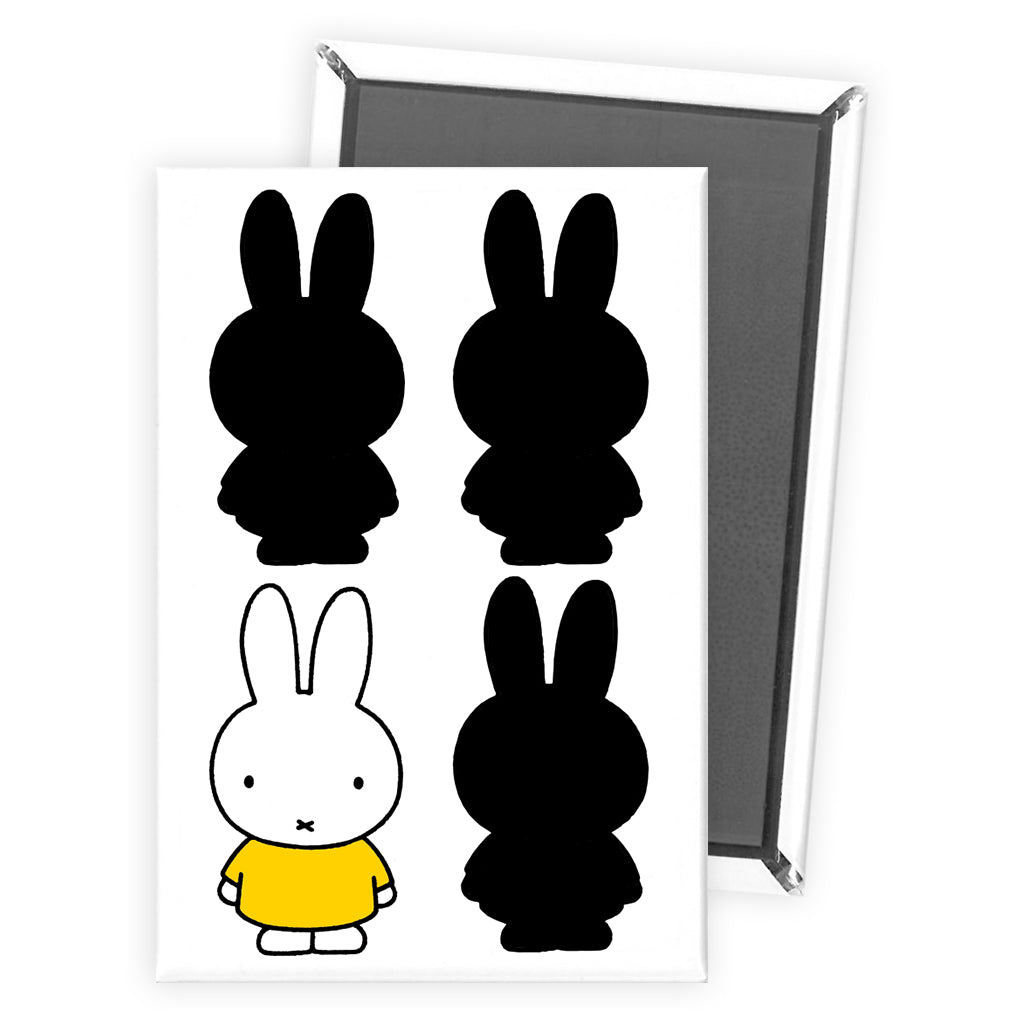 Miffy Silhouette Magnet