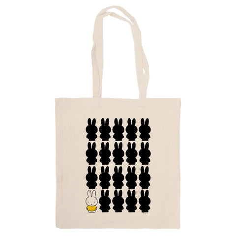Miffy Silhouette Tote Bag