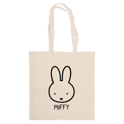 Miffy Face Tote Bag