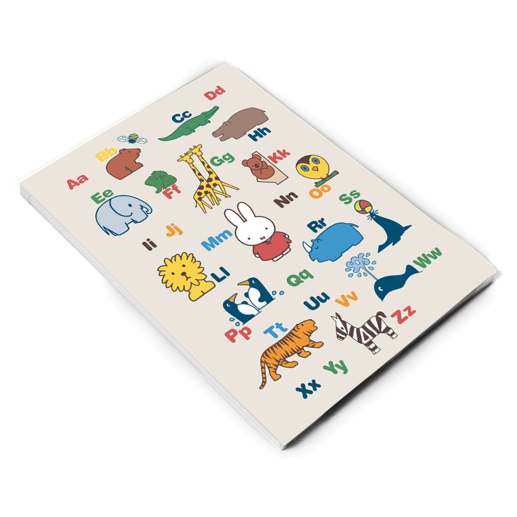 Miffy Alphabet A5 Notepad