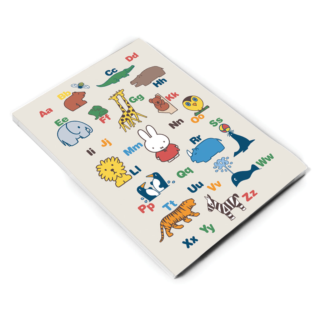 Miffy Alphabet A6 Notepad
