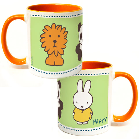 Miffy Animals Coloured Insert Mug