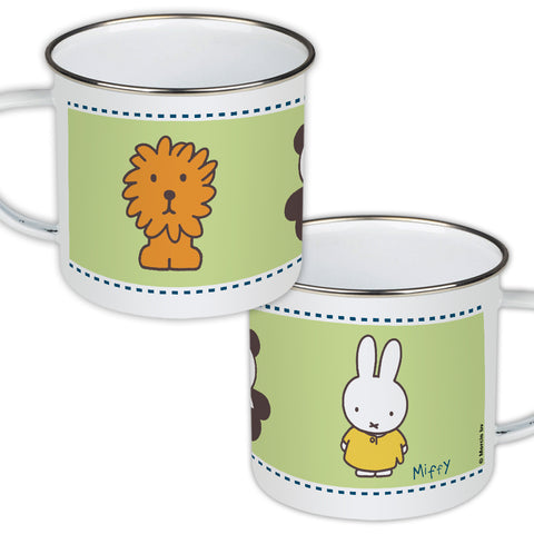 Miffy Animals Enamel Mug