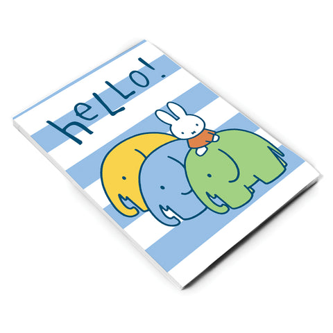 Miffy Elephants A5 Notepad