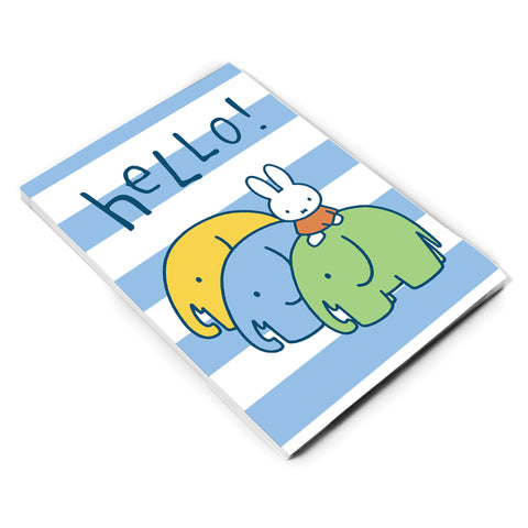 Miffy Elephants A6 Notepad