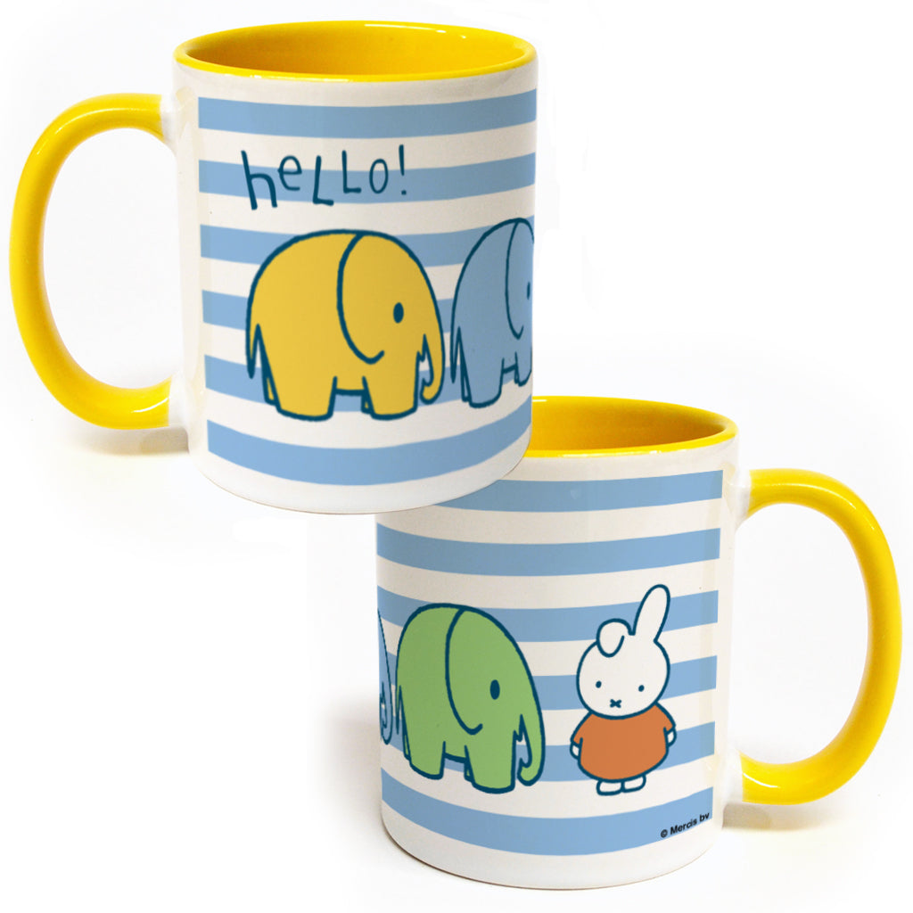 Miffy Elephants Coloured Insert Mug