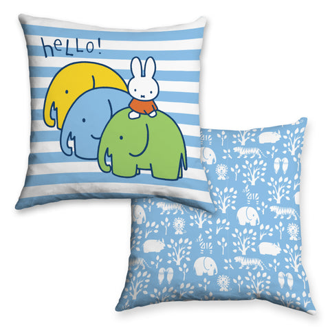 Miffy Elephants Cushion