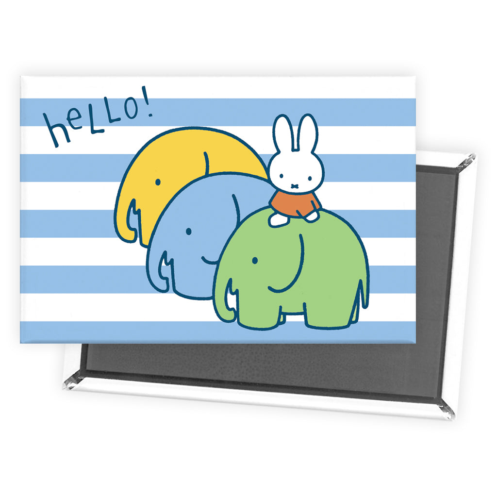 Miffy Elephants Magnet