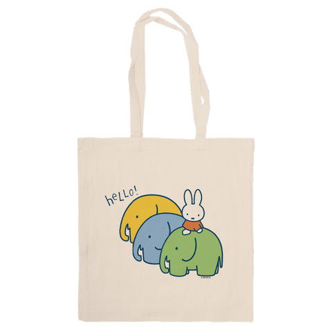 Miffy Elephants Tote Bag