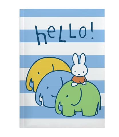 Miffy Elephants Perfectbound A5 Notebook