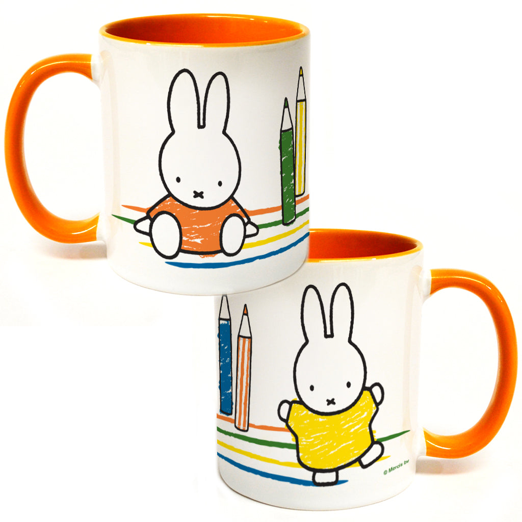 Miffy Colouring Pencils Coloured Insert Mug