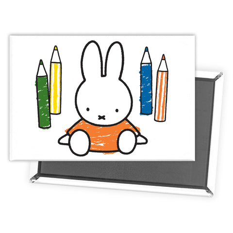 Miffy Colouring Pencils Magnet