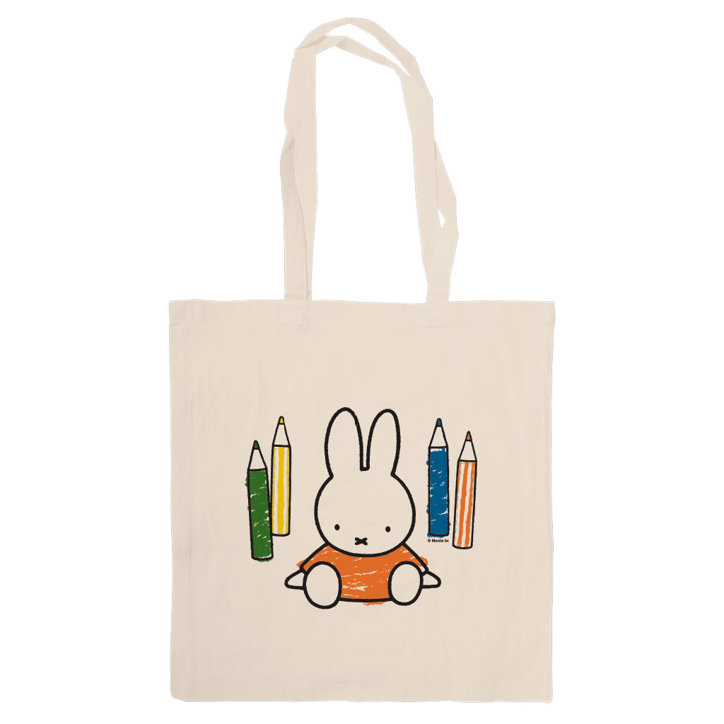 Miffy Colouring Pencils Tote Bag