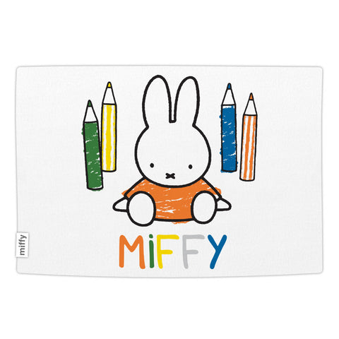 Miffy Colouring Pencils Blanket