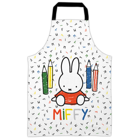 Miffy colouring pencils Kids Apron