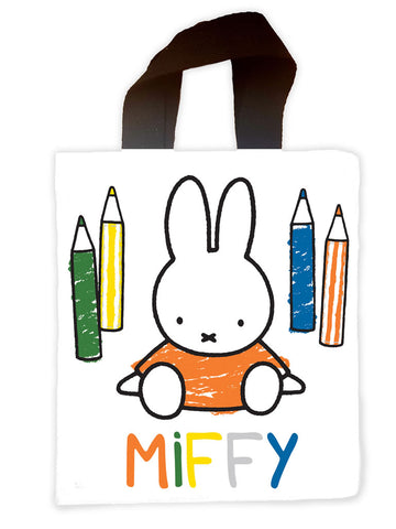 miffy colouring pencils Mini Edge to Edge Tote