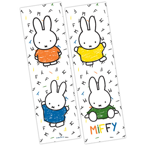 Miffy Coloured Dresses Bookmark