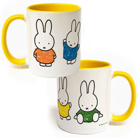 Miffy Coloured Dresses Coloured Insert Mug