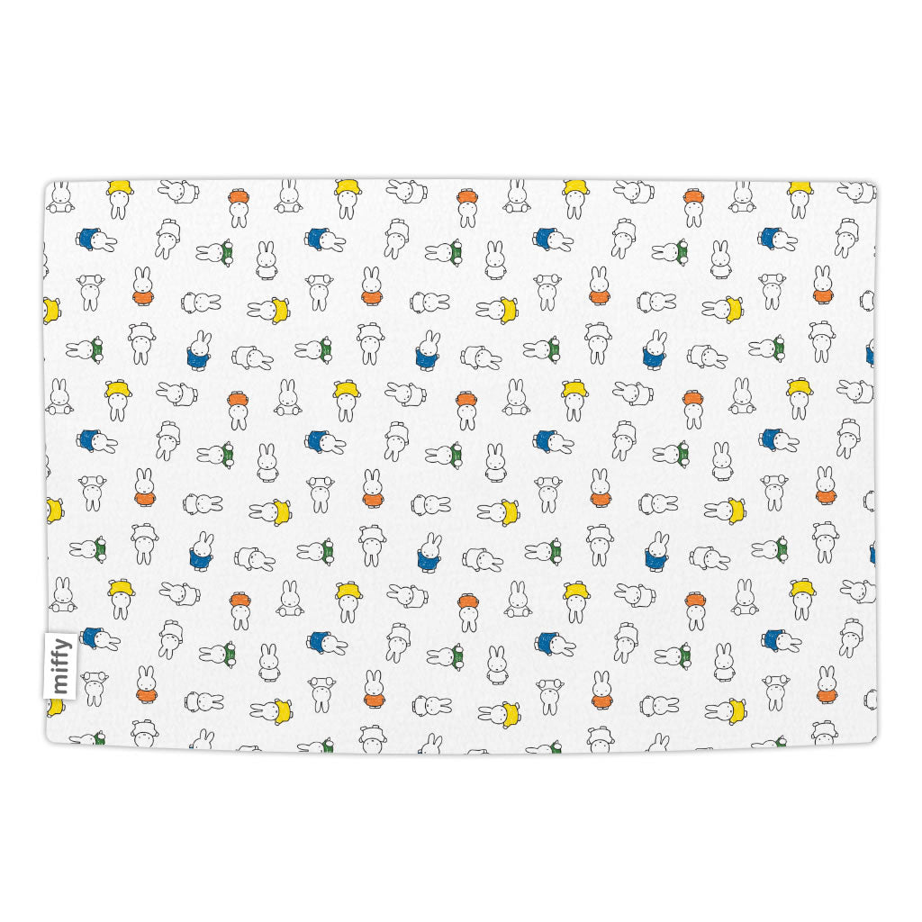 Miffy Coloured Dresses Blanket