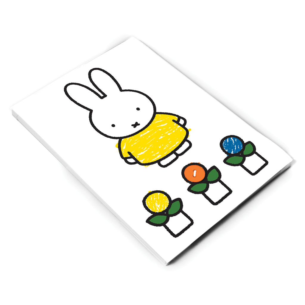 Miffy Yellow Dress A5 Notepad