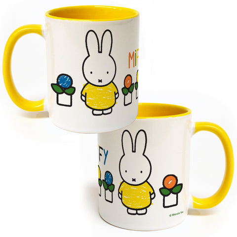Miffy Yellow Dress Coloured Insert Mug