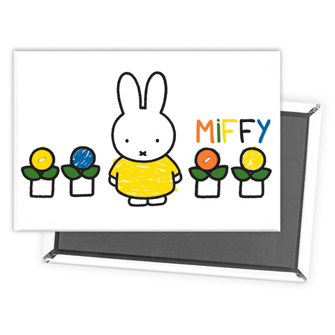 Miffy Yellow Dress Magnet