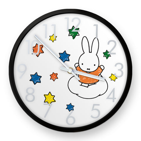 Miffy Stars Clock