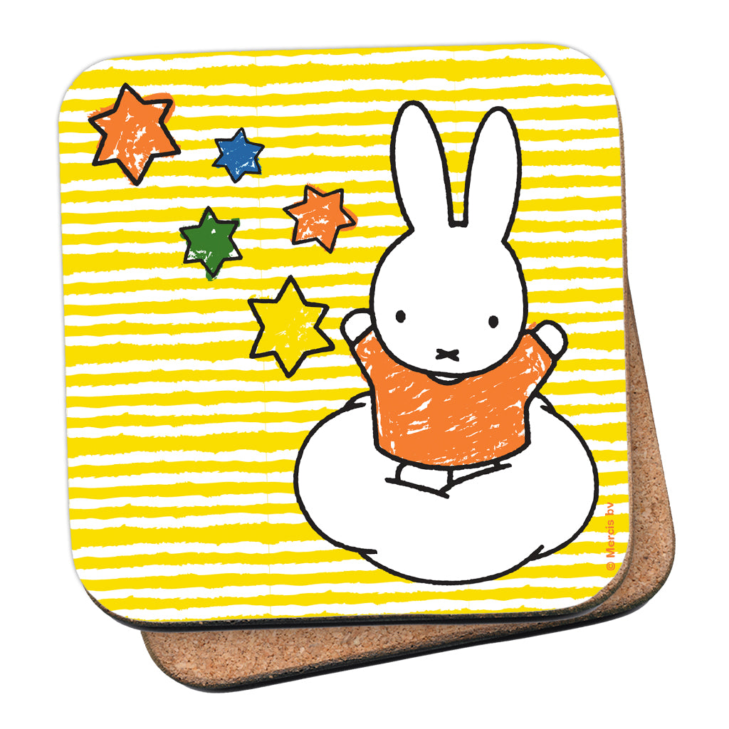 Miffy Stars Cork Coaster