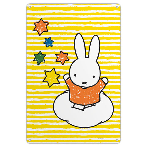 Miffy Stars Metal Sign