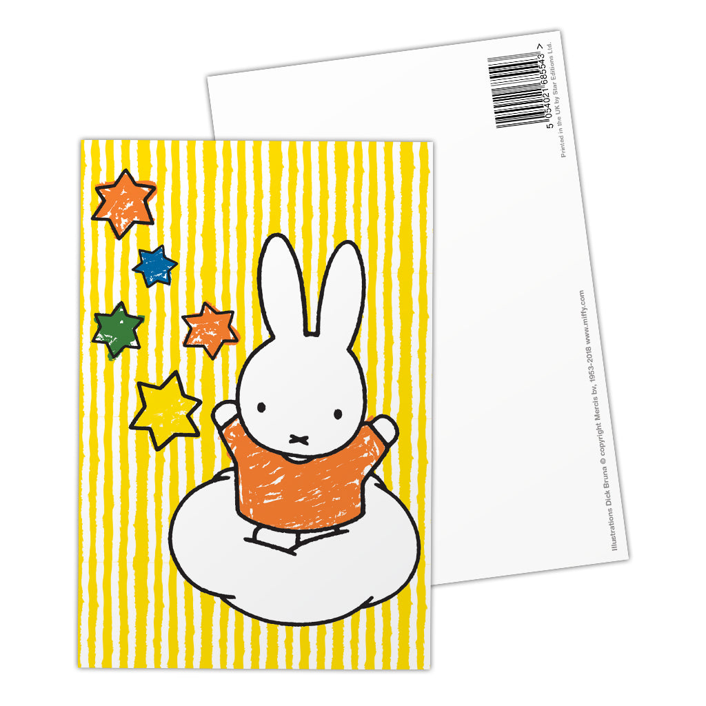 Miffy Stars Postcard