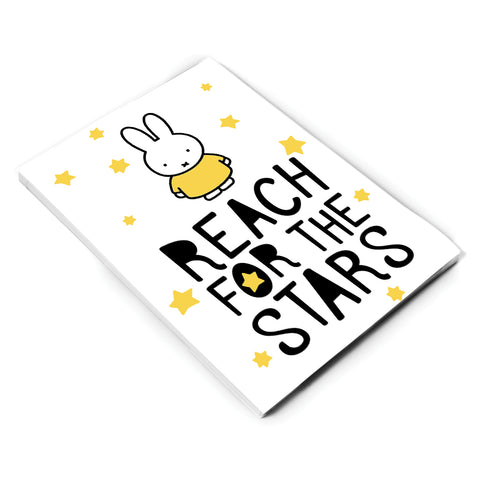 Miffy Reach for the Stars A6 Notepad