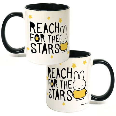 Miffy Reach for the Stars Coloured Insert Mug