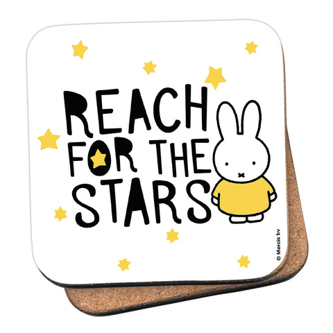 Miffy Reach for the Stars Cork Coaster