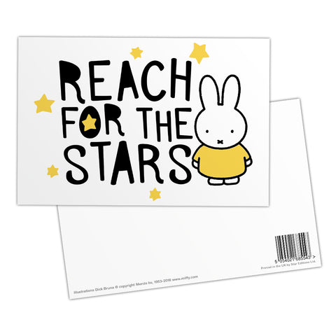 Miffy Reach for the Stars Postcard