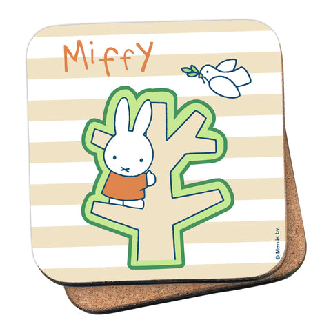 Miffy Tree Cork Coaster