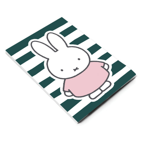 miffy floral expression stripes a5 notepad