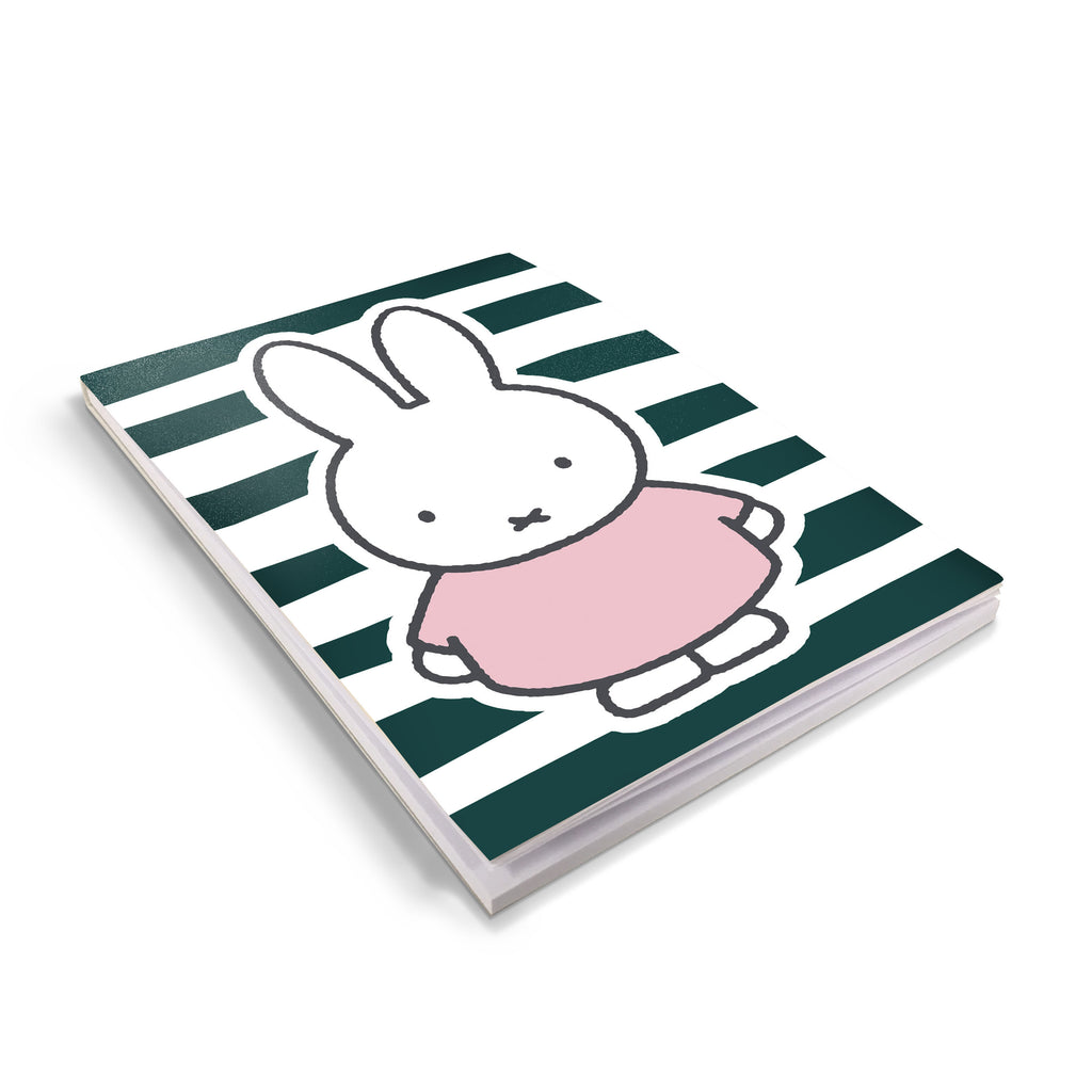 miffy floral expression stripes a6 notepad