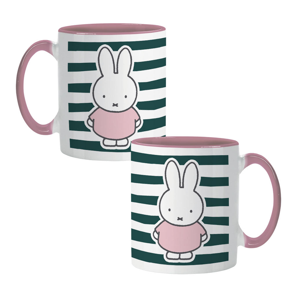 miffy floral expression stripes colour insert mug