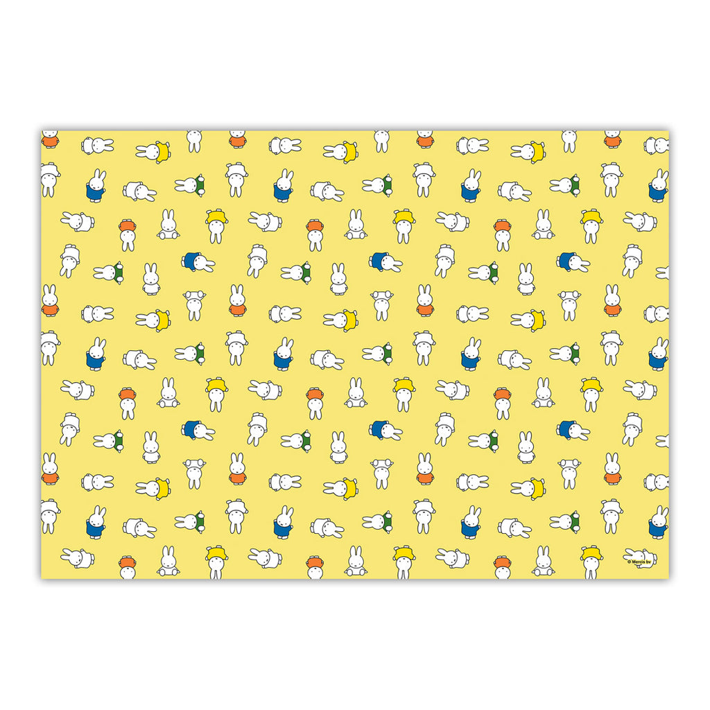 Miffy All Over Yellow Gift Wrap