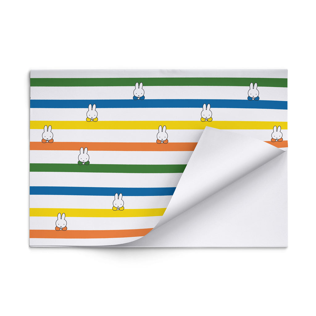 Miffy Classic Stripes Gift Wrap